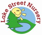 Lake Street Nursery logo - secondary round option